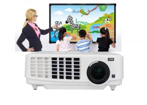 China Universal Remote Control 3LCD Projector For Education Purpose With USB HDMI VGA on sale