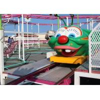 China Various In Design Wacky Worm Coaster , Outdoor 6 Seats Kids Amusement Ride on sale