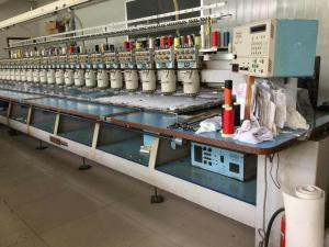Barudan Second Hand Computerised Embroidery Machine 7 Needles 220v