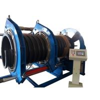 China 600MM Butt Fusion Welding Corrugated Pipe Welding Machine For Spiral Texture PE Pipe on sale