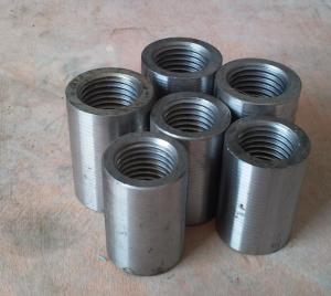 China Metal steel splicing mechanical coupling / Rebar Coupler Construion use on sale