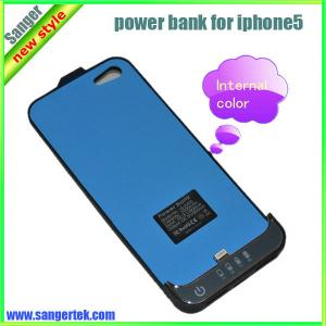 China New Battery Case 2200mAh Real Capacity for iPhone5 Power Charger on sale