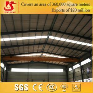 China A3-A4 Working Grade Electric Single Girder Crane on sale