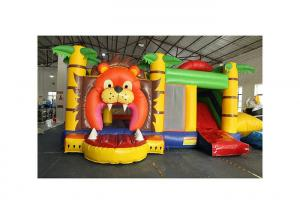 China Lion Inflatable Jumping Bouncer 5.5 X 5 X 4m With 3 Years Warranty on sale