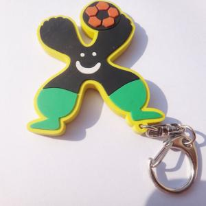 China Couple Gift 2d / 3d Soft PVC Keychain For YiChun Clothing CE ROHS FDA SGS on sale