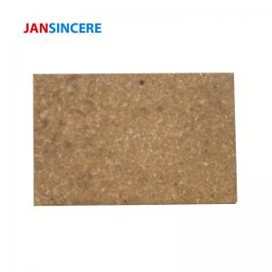 China High Refractoriness Fused Mullite High Temp Fire Brick For Fireplace , Erosion Resistance on sale