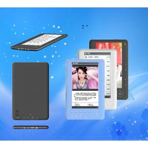 China 7 inch Portable Automatic digital Ebook Reader Touch Screen (MP3, WMA, FLAC, AAC, OGG) on sale