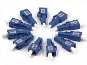 China Fixed Optical Attenuator 2dB 3dB 4DB , LC Single Mode Attenuator Male To Female on sale