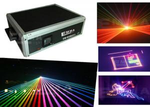 China 3w laser Projector RGY DJ Disco Light effect Stage Xmas Party Laser Lighting Show on sale