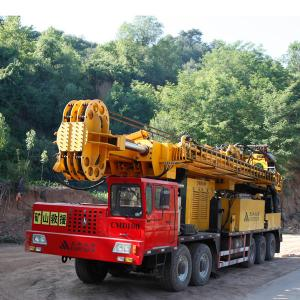 China Mineral Investigation / Natural Gas Drilling Rigs , 100 Ton Pull CMD100 on sale