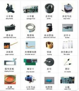 China Encad Novajet 750/700 Printer Parts,Mainboard ,Carridge Board , Belt,bushing copper.. on sale