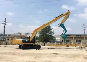 High Mobility Excavator Vibro Hammer Working In Sand And