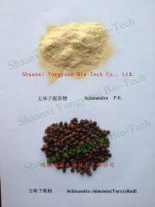 China Schisandra Extract 2% ,5%, 9%Schisandrins, anti aging, Protect liver,CAS.: 7432-28-2 Chinese export, Yongyuan Bio-Tech, on sale