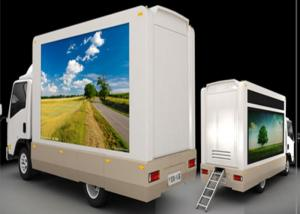 China Commercial Truck Mobile Led Display , Led Trailer Screen For Promotion / Notice on sale