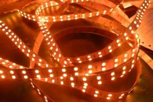 China DC 12V / 24V Warm White Flexible SMD 5050 LED Strip Double Row IP20 Strip Light on sale
