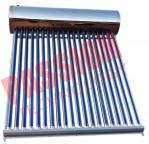 304 Stainless Steel Thermal Solar Water Heater Residential With Feeding Tank