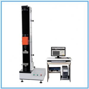 China Desktop Single Column Tensile Testing Machines / Strength Tester With AC Servo Motor for Zipper WDW-5 on sale