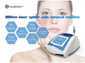 China Professional manufacturer 980 nm laser diode machine for skin tags / vascular veins removal on sale
