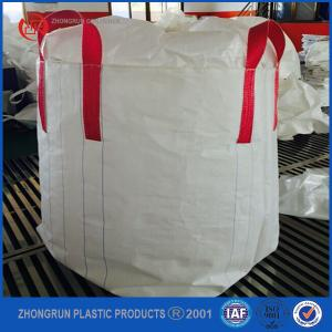 China 100% pp woven U-Panel 1000kg FIBC super sacks for sand cement and chemical,1 ton pp bag on sale