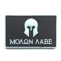 China tactical morale hook and loop soft custom pvc patch on sale