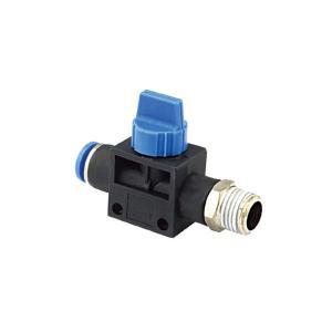 China プラスチックHVFS空気の空気付属品、M5 | 1/2」手の真空の制御弁 on sale