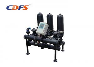 China PLC Control Automatic Disc Filter For Water Treatment Unit Protect on sale