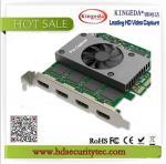 Cartão de captação video de HDMI com vídeo de 1080P 60fps HD ao PCI-e