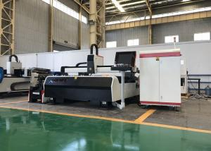 China Servo Motor Metal Tube Laser Cutting Machine , Metal CNC Machine Laser Cutter on sale