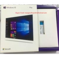 Activation Online Windows 10 Pro Retail Box , Win 10 Professional 32/64 Bit USB