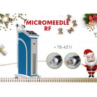 Professional Mesotherapy Fractional RF Microneedle Machine / Scar Removal Device