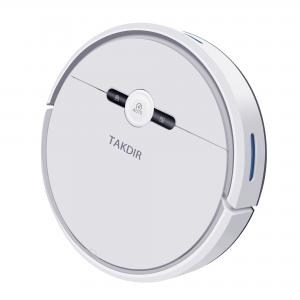 China New Arrival White Automatic Robot Vacuum Cleaner For Cleaning The Floor on sale