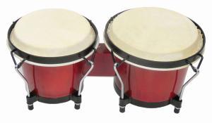 China Clip Art Kids Music Instruments , Vintage Kids Bongo Drum on sale