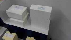 Quality White Fused Cast Mullite Bricks , Thermal Shock Resistance Refractory Brick for sale