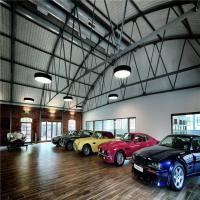 China Heya Int'l Car Showroom Modern Design  Steel Structure  Prefab Workshop Made In China on sale