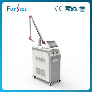 China Double nd yag laser rod Q-switched nd:yag laser tattoo removal machine skin rejuvenation on sale
