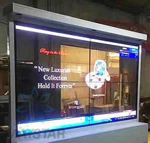 China Indoor Outdoor Mini OLED Display / Glass Transparent Video Display on sale