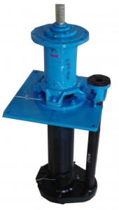 China EVR-65Q corrosion resistant rubber casing centrifugal vertical slurry pump on sale