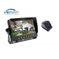 360 degree 4CH security monitoring DVR system with 7 inch screen