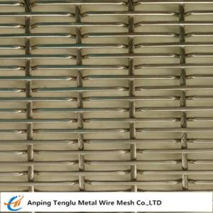 China Stainless Steel Metal Decorative Mesh for Building on sale