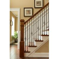 Wrought iron stair Decorative handrail for home and garden indoor or outdoor usage