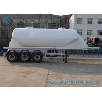38000 L Conoid Dry Bulk Three Axle Trailers UWA / BPW Air Suspension