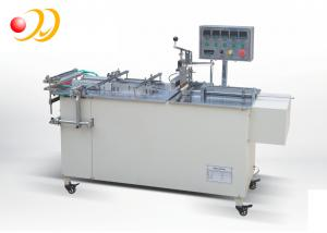 China Semi - Automatic Cellophane Wrapping Machine For Cigarette Box on sale