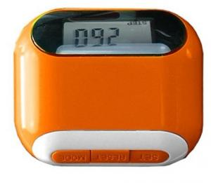 China Solar pedometer with distance and calorie function on sale