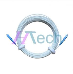 China SC/UPC-SC/UPC FTTH Patch Cord, 1Core Fiber Optical Drop Cord on sale