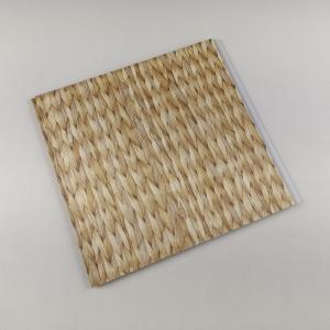 China Bamboo Style Laminating PVC Wall Panels , PVC bathroom wall cladding Decoration on sale