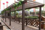 2019 China Supplier High Quality Eco-Friendly Outdoor WPC Pergola