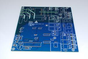 China Professional Computer Circuit Board Blue Colors Soldmask Quickturn Prototype Pcb on sale