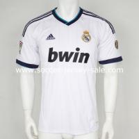 b0f69d26c 12 13 real madrid home soccer jerseys