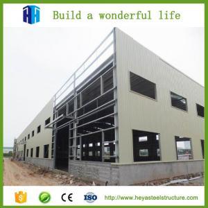 China Flexible Design Prefab Structural Steel Beam Steel Constructed Hangar workshop on sale
