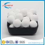99% Purity Alumina Ceramic Balls , Spheres Shape Catalyst Support Media 25mm